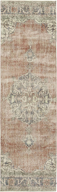 Vintage Anadolu Yolluk - 90 cm x 304 cm