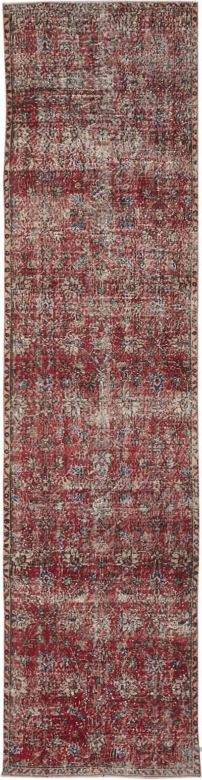 Alfombra Turca Vintage De Pasillo - 86 cm x 337 cm