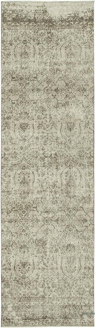 "Vintage Turkish Runner Rug - 2' 11"" x 10' 8"" (35 in. x 128 in.)"