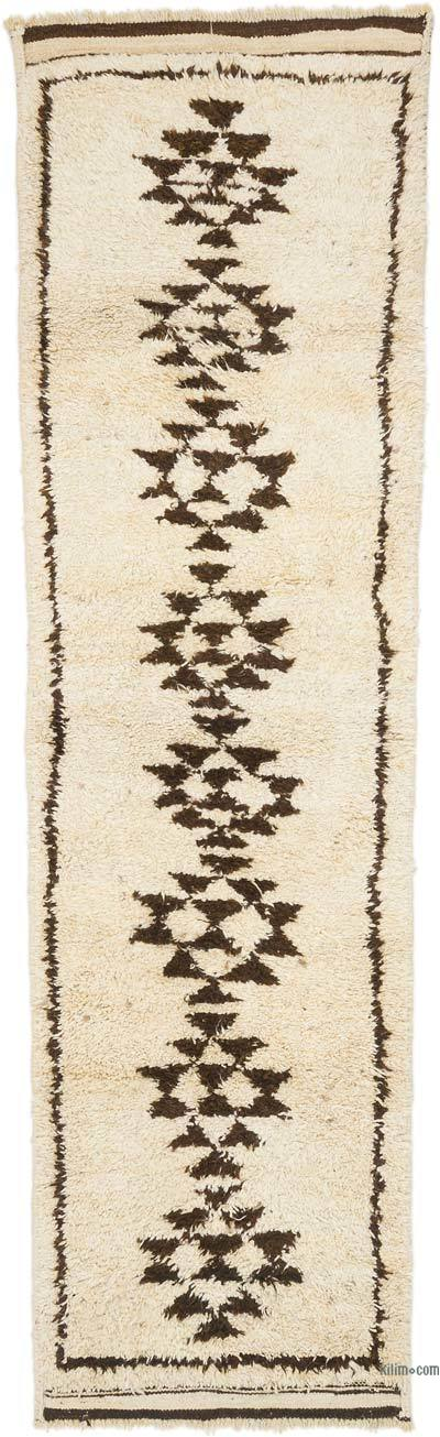 "Vintage Turkish Runner Rug - 3' 4"" x 11' 1"" (40 in. x 133 in.)"