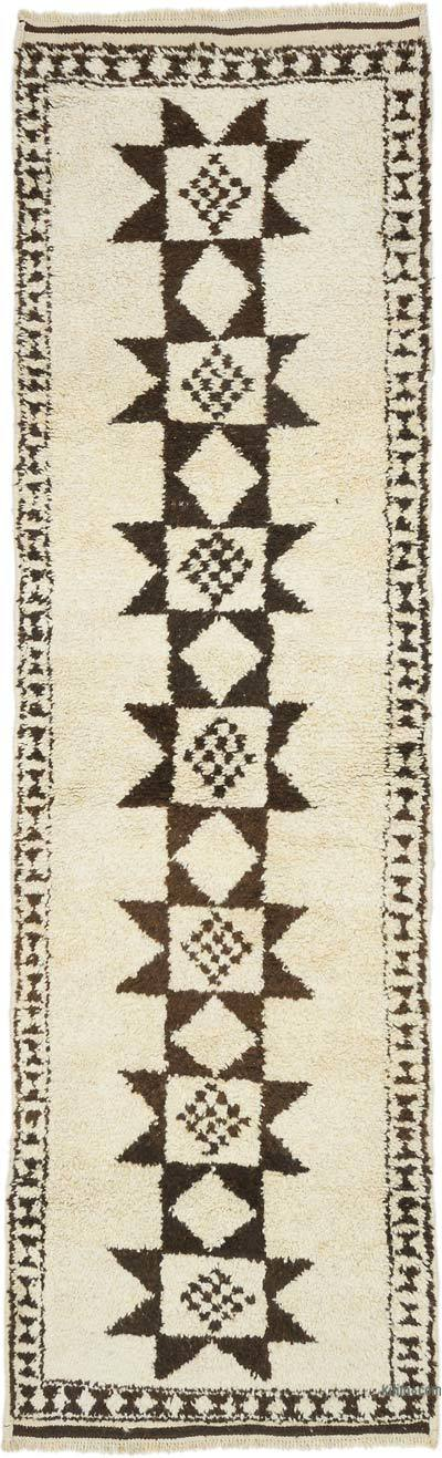 "Vintage Turkish Runner Rug - 3' 7"" x 11' 6"" (43 in. x 138 in.)"