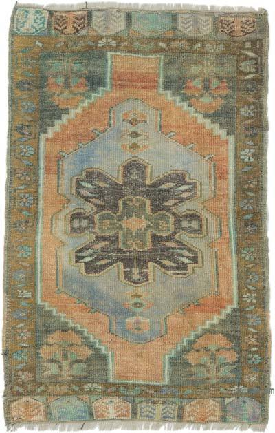 Vintage Turkish Hand-Knotted Rug - 2'  x 3'  (24 in. x 36 in.)
