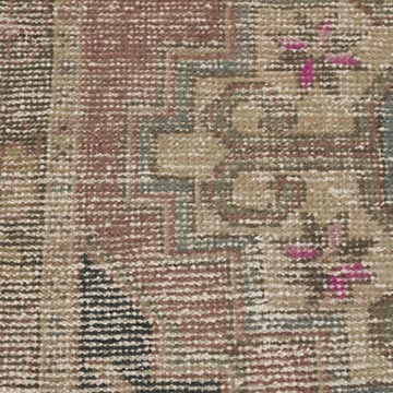 """Vintage Turkish Hand-Knotted Rug - 1' 8"""" x 2' 10"""" (20 in. x 34 in.) - K0054769"""