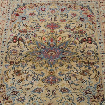 """Vintage Turkish Hand-Knotted Rug - 2' 7"""" x 3' 5"""" (31 in. x 41 in.) - K0055391"""