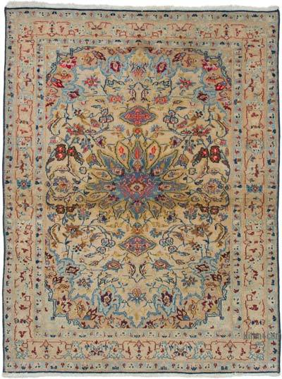 """Vintage Turkish Hand-knotted Rug - 2' 7"""" x 3' 5"""" (31 in. x 41 in.)"""