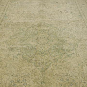 """Vintage Turkish Hand-Knotted Rug - 6' 6"""" x 9' 7"""" (78 in. x 115 in.) - K0055400"""