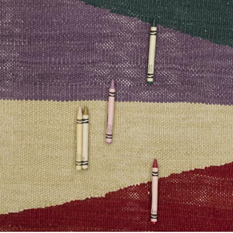 "Multicolor New Handwoven Turkish Kilim Rug - 3' 5"" x 11' 11"" (41 in. x 143 in.) - K0056010"