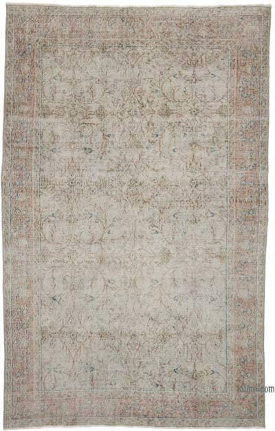 Vintage El Dokuma Anadolu Halısı - 162 cm x 260 cm