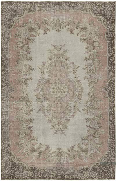 """Vintage Turkish Hand-Knotted Rug - 6' 1"""" x 9' 5"""" (73 in. x 113 in.)"""