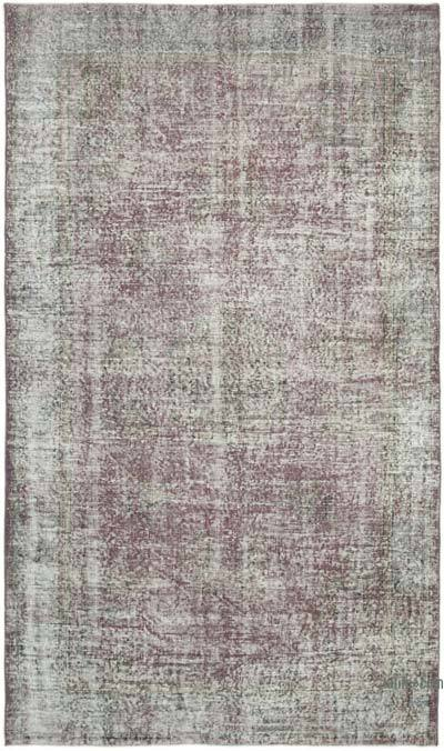 """Vintage Turkish Hand-Knotted Rug - 5' 3"""" x 8' 11"""" (63 in. x 107 in.)"""