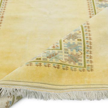 """Vintage Turkish Hand-Knotted Rug - 5' 3"""" x 7'  (63 in. x 84 in.) - K0056192"""