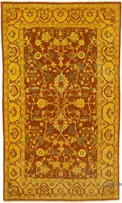 """Vintage Hand-Knotted Oriental Rug - 5' 6"""" x 9' 6"""" (66 in. x 114 in.)"""