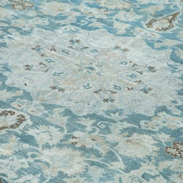 """Vintage Hand-Knotted Oriental Rug - 8' 10"""" x 12' 11"""" (106 in. x 155 in.) - K0056224"""