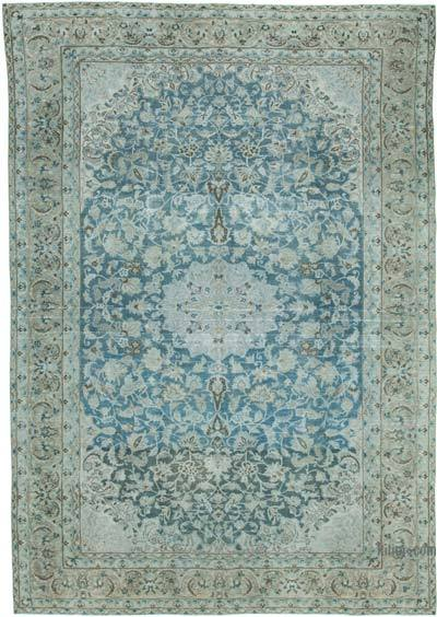 """Vintage Hand-Knotted Oriental Rug - 8' 10"""" x 12' 11"""" (106 in. x 155 in.)"""