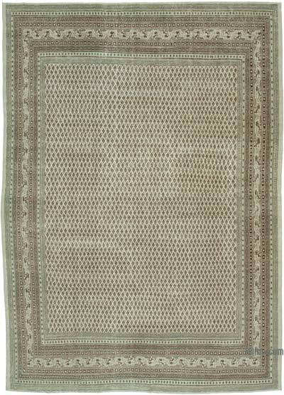 """Vintage Hand-Knotted Oriental Rug - 9' 1"""" x 12' 7"""" (109 in. x 151 in.)"""