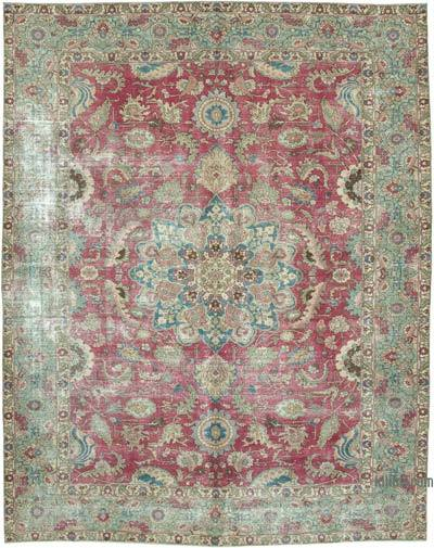 """Vintage Hand-Knotted Oriental Rug - 8' 6"""" x 10' 10"""" (102 in. x 130 in.)"""