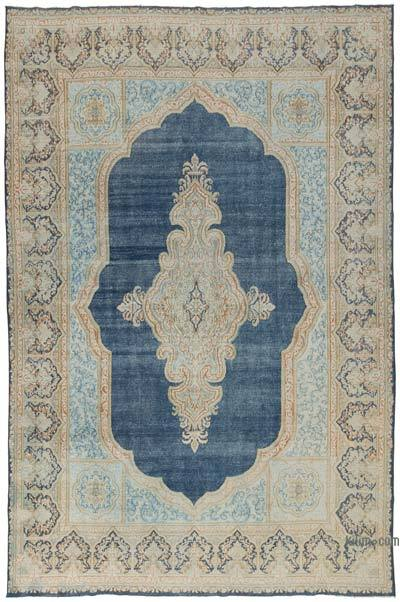 """Vintage Hand-Knotted Oriental Rug - 8' 9"""" x 13' 5"""" (105 in. x 161 in.)"""