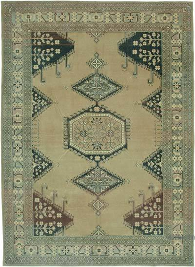 """Vintage Hand-Knotted Oriental Rug - 8' 8"""" x 12'  (104 in. x 144 in.)"""