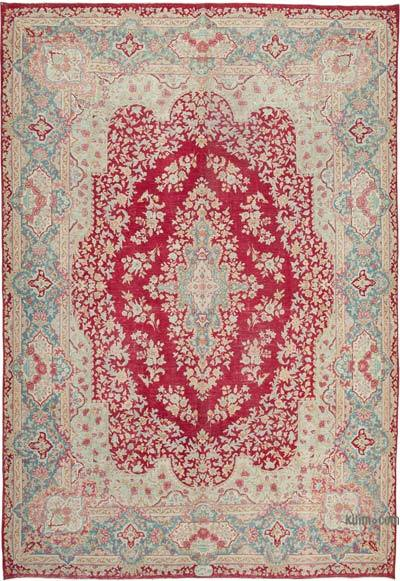 """Vintage Hand-Knotted Oriental Rug - 9' 8"""" x 13' 9"""" (116 in. x 165 in.)"""