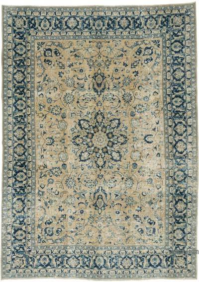 """Vintage Hand-Knotted Oriental Rug - 8' 2"""" x 11' 7"""" (98 in. x 139 in.)"""