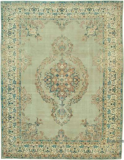 """Vintage Hand-Knotted Oriental Rug - 9' 8"""" x 12' 7"""" (116 in. x 151 in.)"""