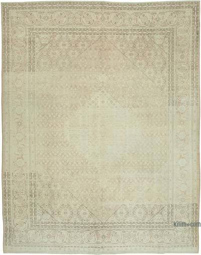 """Vintage Hand-Knotted Oriental Rug - 9' 2"""" x 11' 10"""" (110 in. x 142 in.)"""