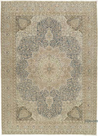 """Vintage Hand-Knotted Oriental Rug - 8' 3"""" x 11' 5"""" (99 in. x 137 in.)"""