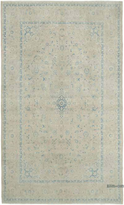 """Vintage Hand-Knotted Oriental Rug - 9' 7"""" x 15' 11"""" (115 in. x 191 in.)"""