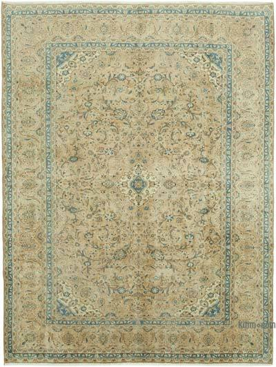 """Vintage Hand-Knotted Oriental Rug - 9' 7"""" x 12' 10"""" (115 in. x 154 in.)"""