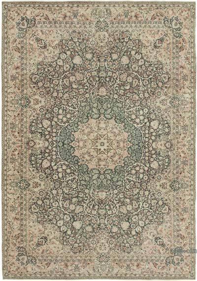 El Dokuma Vintage Halı - 246 cm x 347 cm