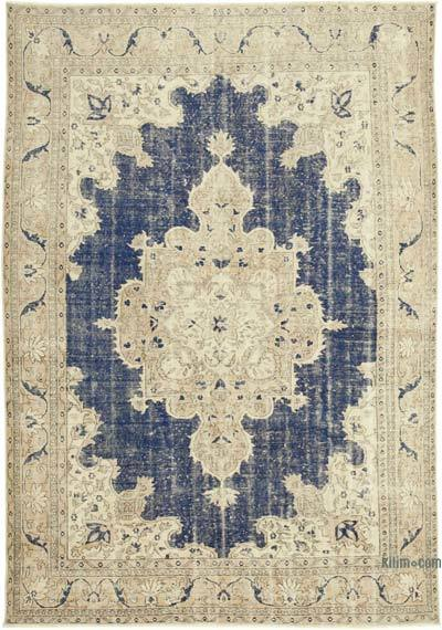"""Vintage Hand-Knotted Oriental Rug - 7' 4"""" x 10' 4"""" (88 in. x 124 in.)"""