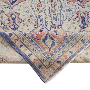 """Vintage Hand-Knotted Oriental Rug - 9' 7"""" x 12' 10"""" (115 in. x 154 in.) - K0056297"""