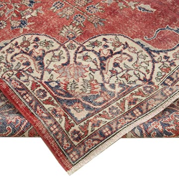 """Vintage Hand-Knotted Oriental Rug - 8' 3"""" x 12' 8"""" (99 in. x 152 in.) - K0056311"""