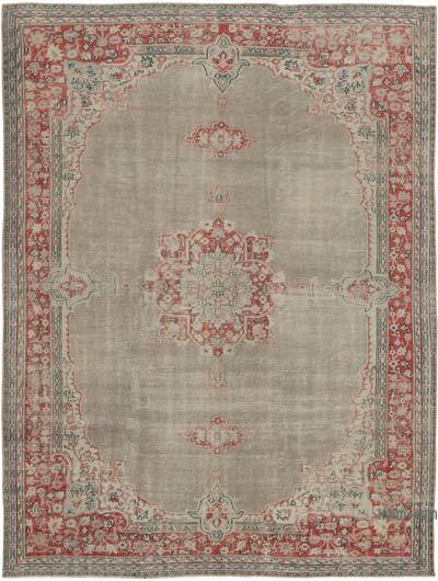 """Vintage Hand-Knotted Oriental Rug - 8' 1"""" x 10' 7"""" (97 in. x 127 in.)"""