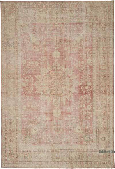 """Vintage Hand-Knotted Oriental Rug - 7' 10"""" x 11' 6"""" (94 in. x 138 in.)"""