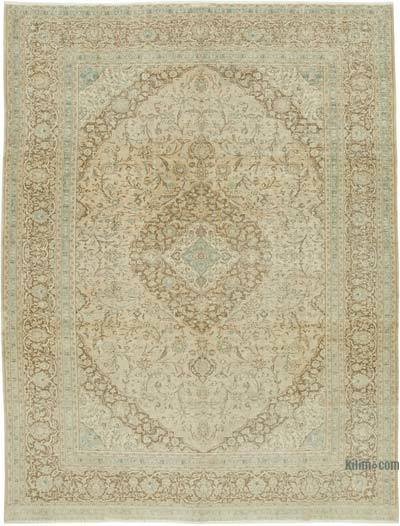 """Vintage Hand-Knotted Oriental Rug - 9' 5"""" x 12' 6"""" (113 in. x 150 in.)"""