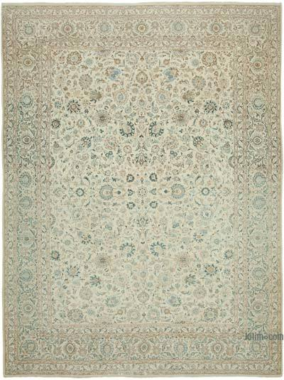 """Vintage Hand-Knotted Oriental Rug - 10' 6"""" x 14'  (126 in. x 168 in.)"""
