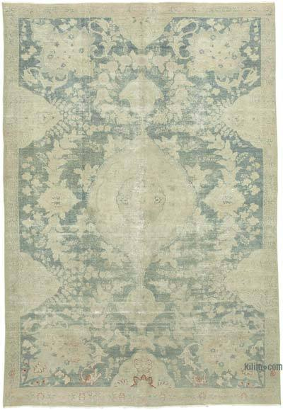 """Vintage Hand-Knotted Oriental Rug - 6' 11"""" x 10' 4"""" (83 in. x 124 in.)"""