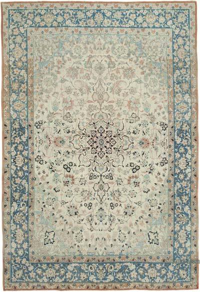 """Vintage Hand-Knotted Oriental Rug - 9' 3"""" x 13' 9"""" (111 in. x 165 in.)"""