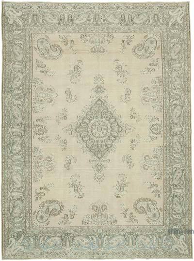 """Vintage Hand-Knotted Oriental Rug - 9' 7"""" x 13' 1"""" (115 in. x 157 in.)"""
