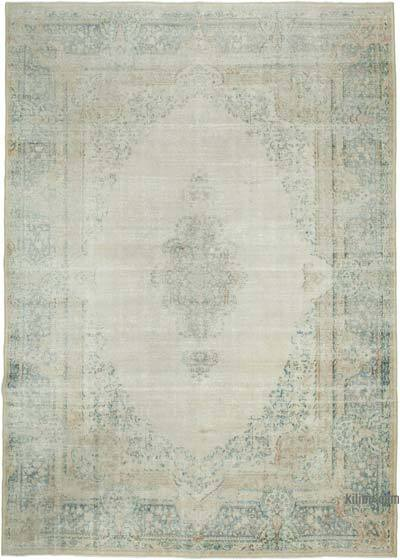 """Vintage Hand-Knotted Oriental Rug - 9' 7"""" x 13' 7"""" (115 in. x 163 in.)"""