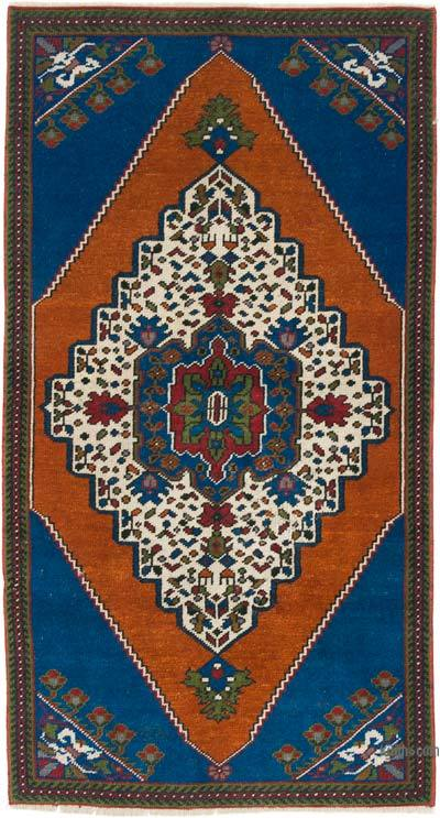 """Vintage Turkish Hand-Knotted Rug - 2' 5"""" x 4' 6"""" (29 in. x 54 in.)"""