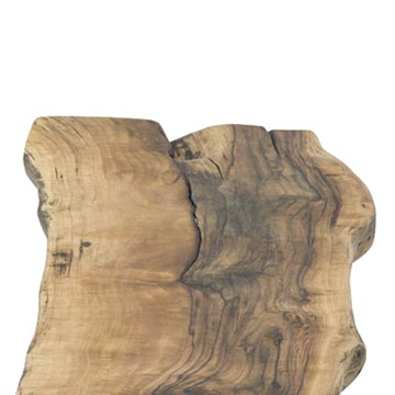 Live Edge Walnut Coffee Table with Cast Aluminum Legs - K0056395