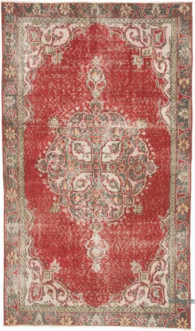 """Vintage Turkish Hand-Knotted Rug - 3' 8"""" x 6' 4"""" (44 in. x 76 in.)"""