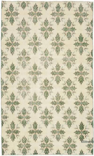 """Vintage Turkish Hand-Knotted Rug - 3' 10"""" x 6' 5"""" (46 in. x 77 in.)"""