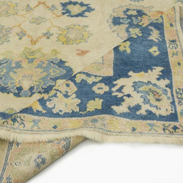 """Vintage Turkish Hand-Knotted Rug - 6'  x 10' 6"""" (72 in. x 126 in.) - K0056408"""