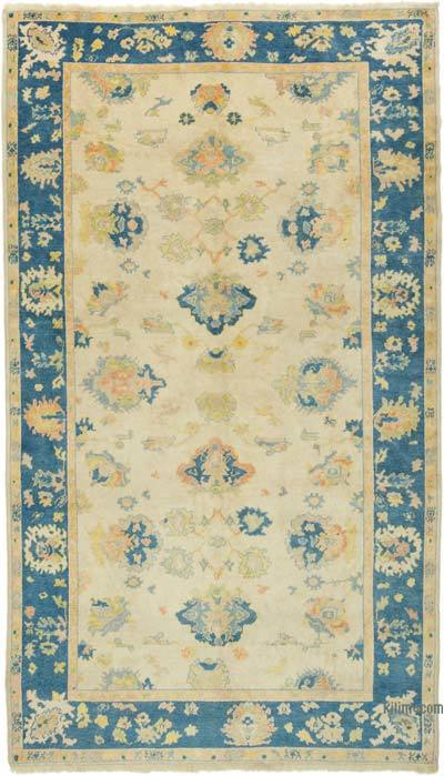 """Vintage Turkish Hand-Knotted Rug - 6'  x 10' 6"""" (72 in. x 126 in.)"""