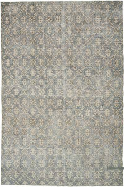 """Vintage Turkish Hand-Knotted Rug - 7'  x 10' 3"""" (84 in. x 123 in.)"""