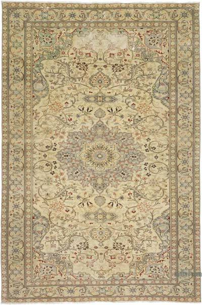 """Vintage Turkish Hand-Knotted Rug - 6' 7"""" x 9' 9"""" (79 in. x 117 in.)"""