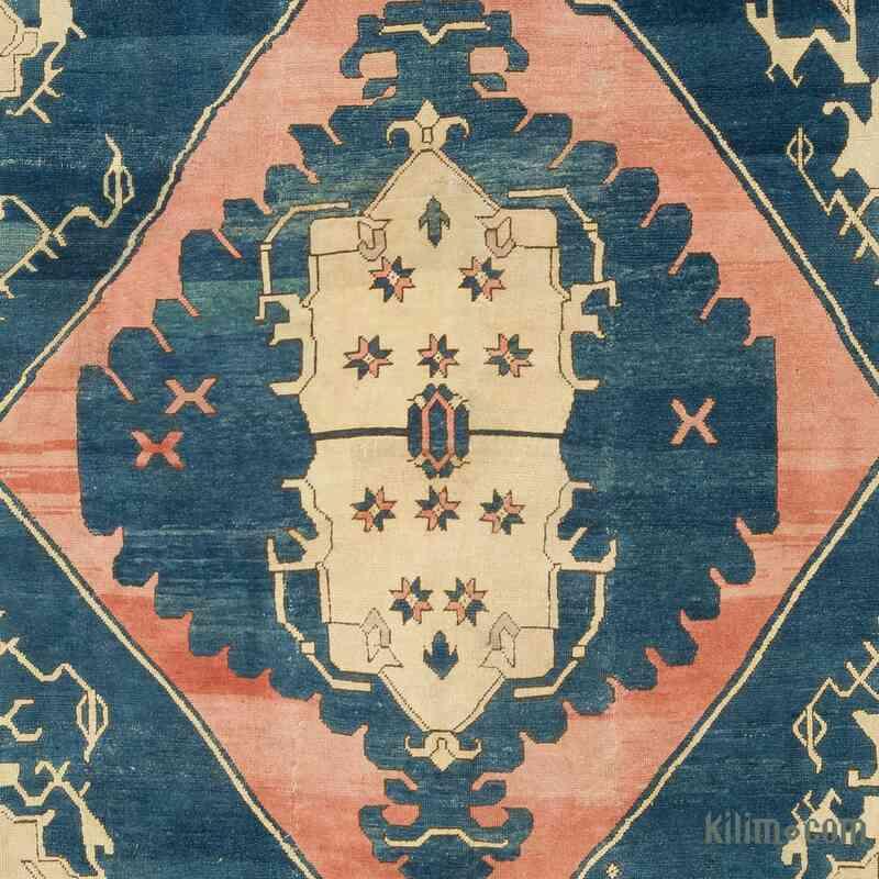 El Dokuma Vintage Halı - 320 cm x 360 cm - K0056426